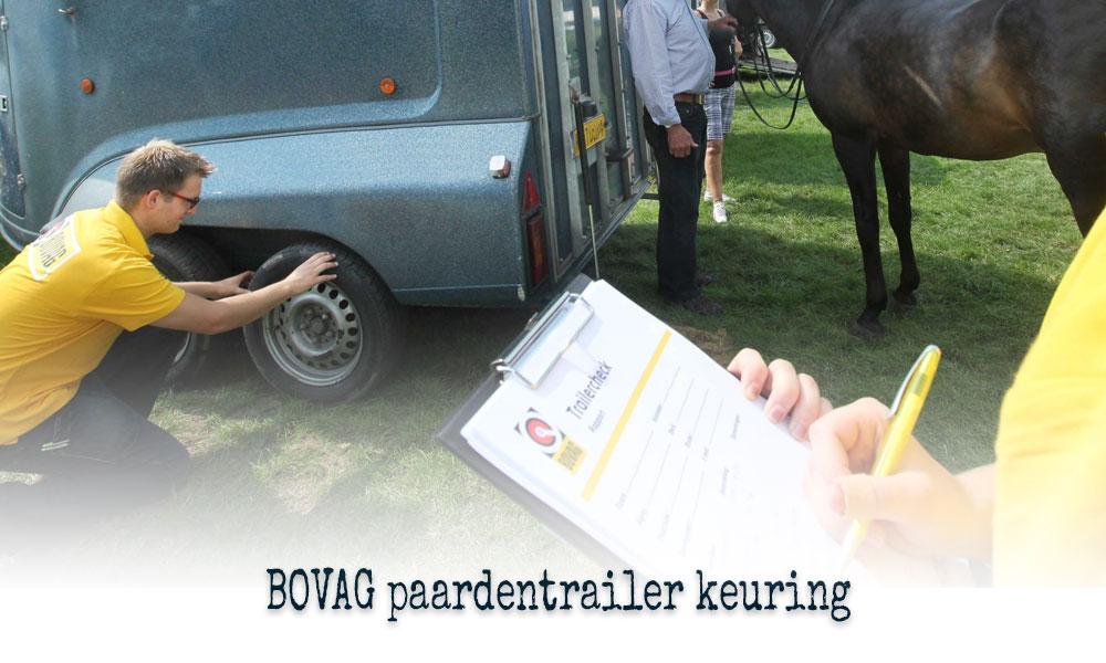 Bovag paardentrailer keuring