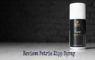Petrie Zipp Spray Review